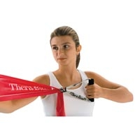 "Thera-Band Resistive Exerciser Heavy 6""X6 Yds Gre"