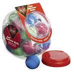 Valeo Gel Squeeze Balls 25 Ct. Container-asst. Col