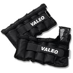 Valeo Adjustable AnkleWrist Weights 10 Lbs. Black