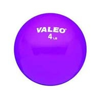 Valeo Weighted Fitness Ball 4 Pound Purple (849 00