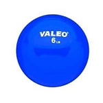 Valeo Weighted Fitness Ball 6 Pound Blue (849 0048