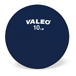 Valeo Weighted Fitness Ball 10 Pound Black (849 00