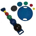 Maps Board With Balls Rods Weights & Rack (851