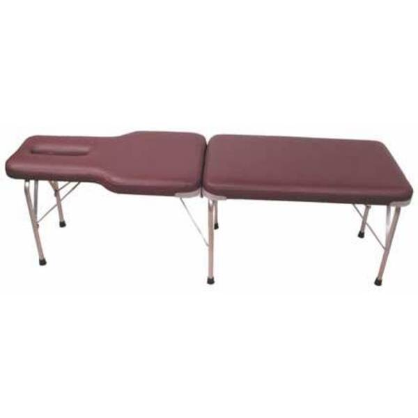 Lloyd C-105a Portable Table with Face Slot & Adjus