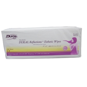 "Dukal 4"" x 4"" Esthetic Wipes / 200 Count (283 0388)"