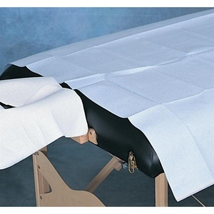 "Disposable Drape Sheet Poly Backed 40""x90"" Sheets/ 50 Count/  Blue (770 0026)"