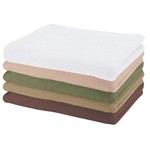 "Microfiber Wash Cloths / 13"" X 13"" / White (062 0025 01)"