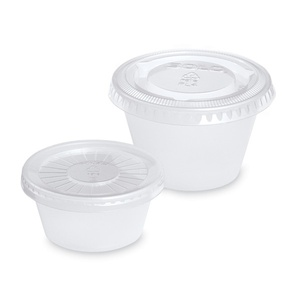 Disposable Mixing Cups with Lids / 2 oz. / 250 Count (283 0318)