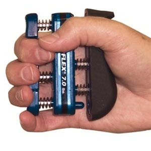 Cando Digiflex Hand/Finger Exerciser / Blue (845 0133 02)