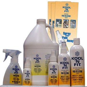 Kool 'N Fit Pain Relieving Formula / 4 oz. Spray (228 0175)