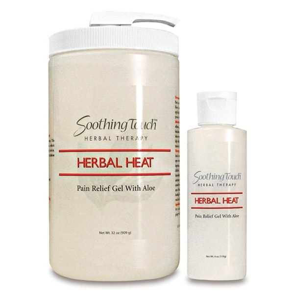 Soothing Touch Herbal Heat Pain Relief Gel (228 0028)