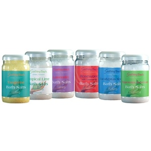 Soothing Touch Bath Salts / 32 oz. / Tropical Lime (209 0096 05)