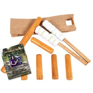 Chair Bamboo Stick Set with DVD by Bamboo Fusion (230 0363)