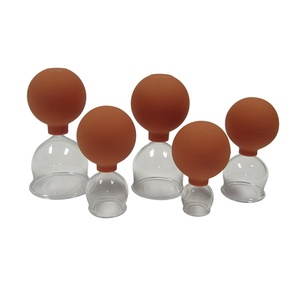 Blown Glass Vacuum Cupping Set 5 Piece (150 0010)