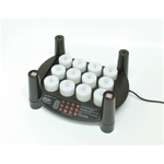 Rechargeable Flameless Tea Light Candles 12 Candles + 1 Stackable Charging Base (253 0062 01)