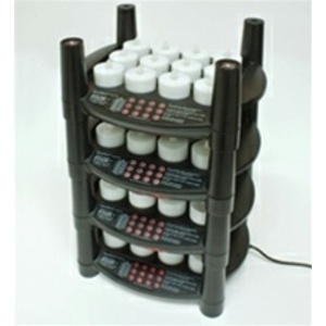 Rechargeable Flameless Tea Light Candles 48 Candles + 4 Stackable Charging Bases (253 0062 04)