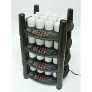 Rechargeable Flameless Votive Candles 48 Candles + 4 Stackable Charging Bases (253 0063 04)