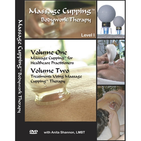 Massage Cupping Therapy Bodywork Vol. I&II DVD (539 0210)