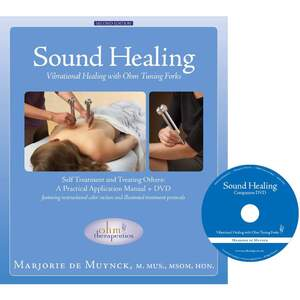 Sound Healing Vibrational Healing Book And DVD Set (230 0353)