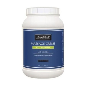 Bon Vital' All Purpose Massage Creme / 1 Gallon