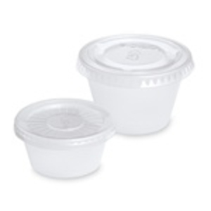 Disposable Mixing Cup Lids ONLY / 2 oz  / 100ct.
