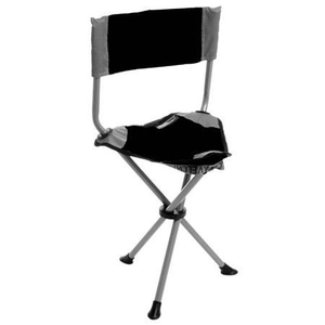 On-Site Therapist Stool Black With Backrest (220 1136)