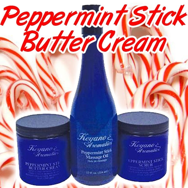 Peppermint Stick Butter Cream by Keyano