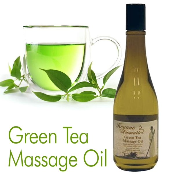 Green Tea Massage Oil by Keyano