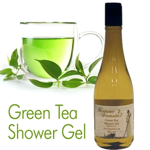 Green Tea Shower Gel by Keyano