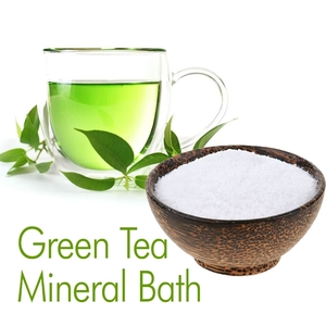 Green Tea Mineral Bath by Keyano