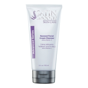 Satin Smooth Skincare Facial Renewal Cream Cleanser 5 oz. (182 0356)