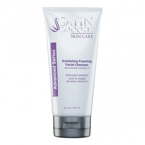 Satin Smooth Skincare Exfoliating Foaming Facial Cleanser 5 oz. (182 0357)