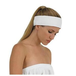 "Canyon Rose Cloud 9 Microplush Headband - White 3"" Wide (353 0010 05)"