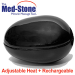 The Med-Stone - Rechargeable Adjustable Temperature Stone for Hot Stone Massage (281 0113)