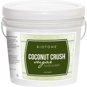 Biotone Sugar Body Polish - Coconut Crush 1 Gallon (285 0140 02 01)