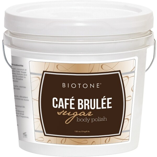 Biotone Sugar Body Polish - Café Brulée 1 Gallon (285 0140 02 03)