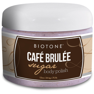 Biotone Sugar Body Polish - Café Brulée 12 oz. (285 0140 11 03)