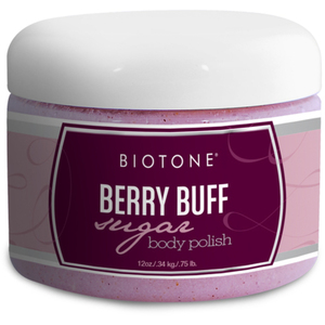 Biotone Sugar Body Polish - Berry Buff 12 oz. (285 0140 11 02)