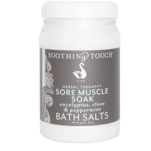 Soothing Touch Sore Muscle Soak Bath Salts 32 oz. (285 0138)