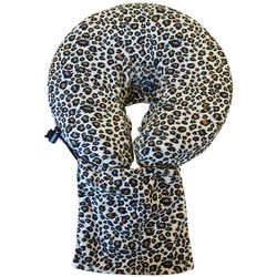Spa Pocket - Face Cradle Slip Cover - Patterned Microplush Leopard (229 1073 17)