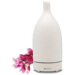 Spa Room™ UltraMist™ Ceramic Diffuser - White Ultrasonic Diffusing Mister (254 0082 06)