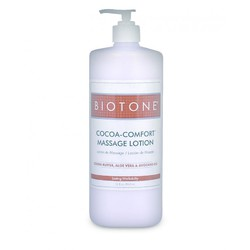 Cocoa-Comfort Massage Lotion - Cocoa Butter + Aloe Vera + Avocado Oil 32 oz. (226 0129 05 )