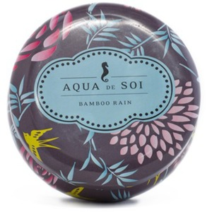 Bamboo Rain - Aqua de Soi Candle Tin - Burn Time 60 Hours 9 oz. (253 0084)