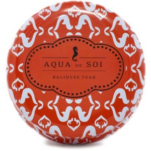 Balinese Teak - Aqua de Soi Candle Tin - Burn Time 60 Hours 9 oz. (253 0087)