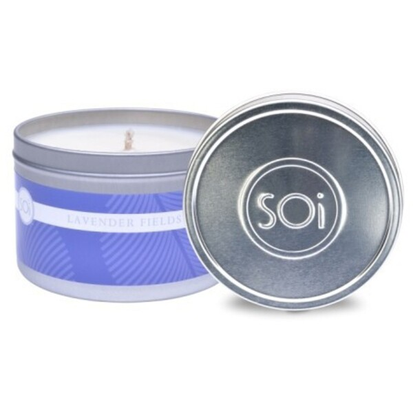 Soi Candle Lavender Fields - Burn Time 70 Hours 8 oz. (253 0081 01 04)