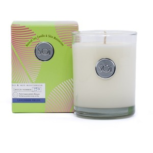 Soi Candle Lavender Fields - Burn Time 90 Hours 13.5 oz. (253 0081 02 04)