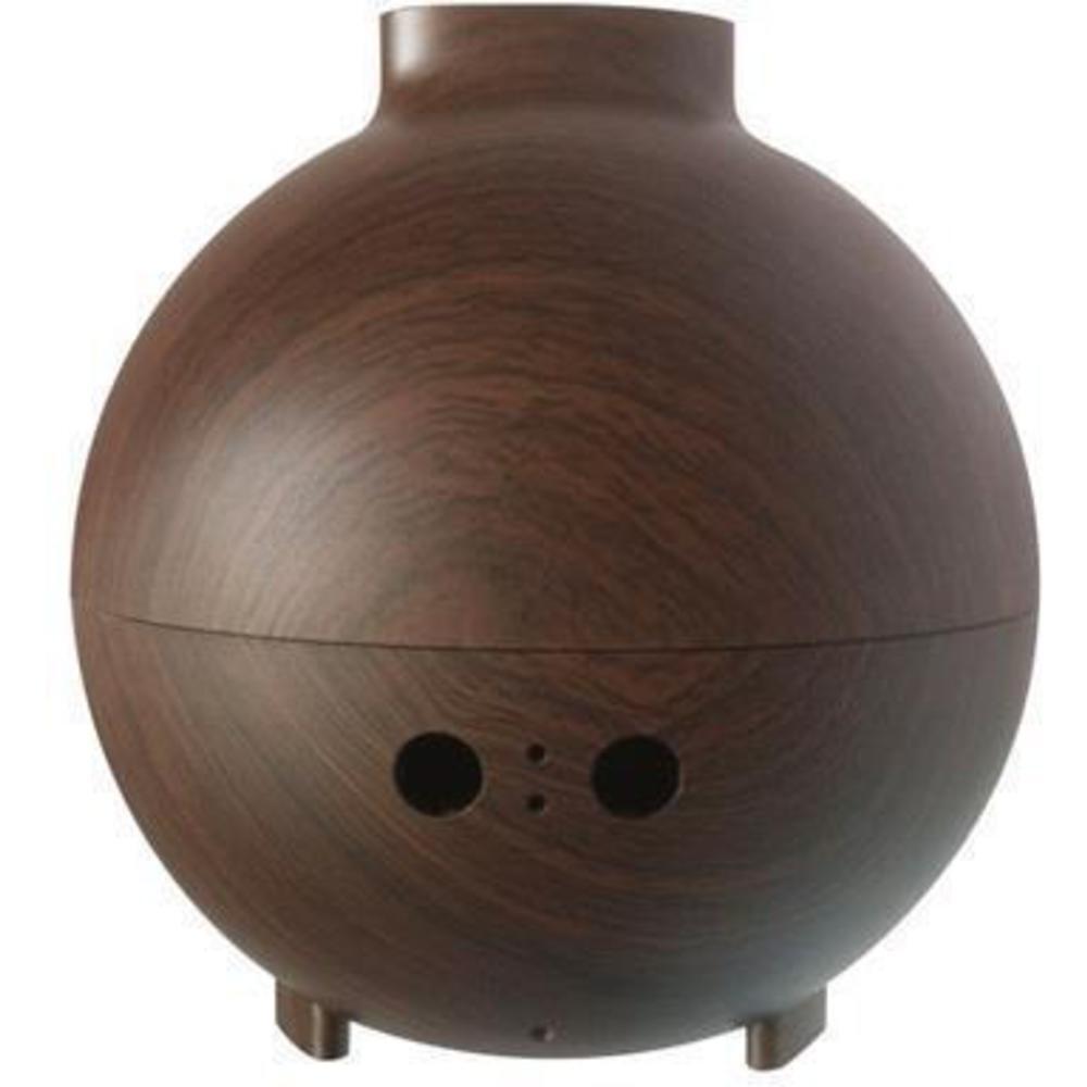 Aromatherapy Nebulizer Diffuser ~ Ultrasonic nebulizer essential oil diffuser dark oak