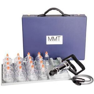 MMT Professional 17 Piece Cupping Set with Pump Gun (150 0030)