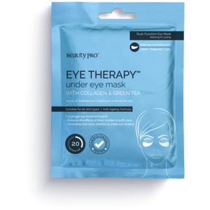 Beauty Pro® Hydrogel Eye Therapy Under Eye Mask with Collagen and Green Tea 3 Pairs (280 0321 05)