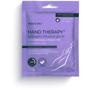 BeautyPro® Hand Therapy Collagen Infused Gloves with Removable Finger Tips 1 Pair (280 0322 06)